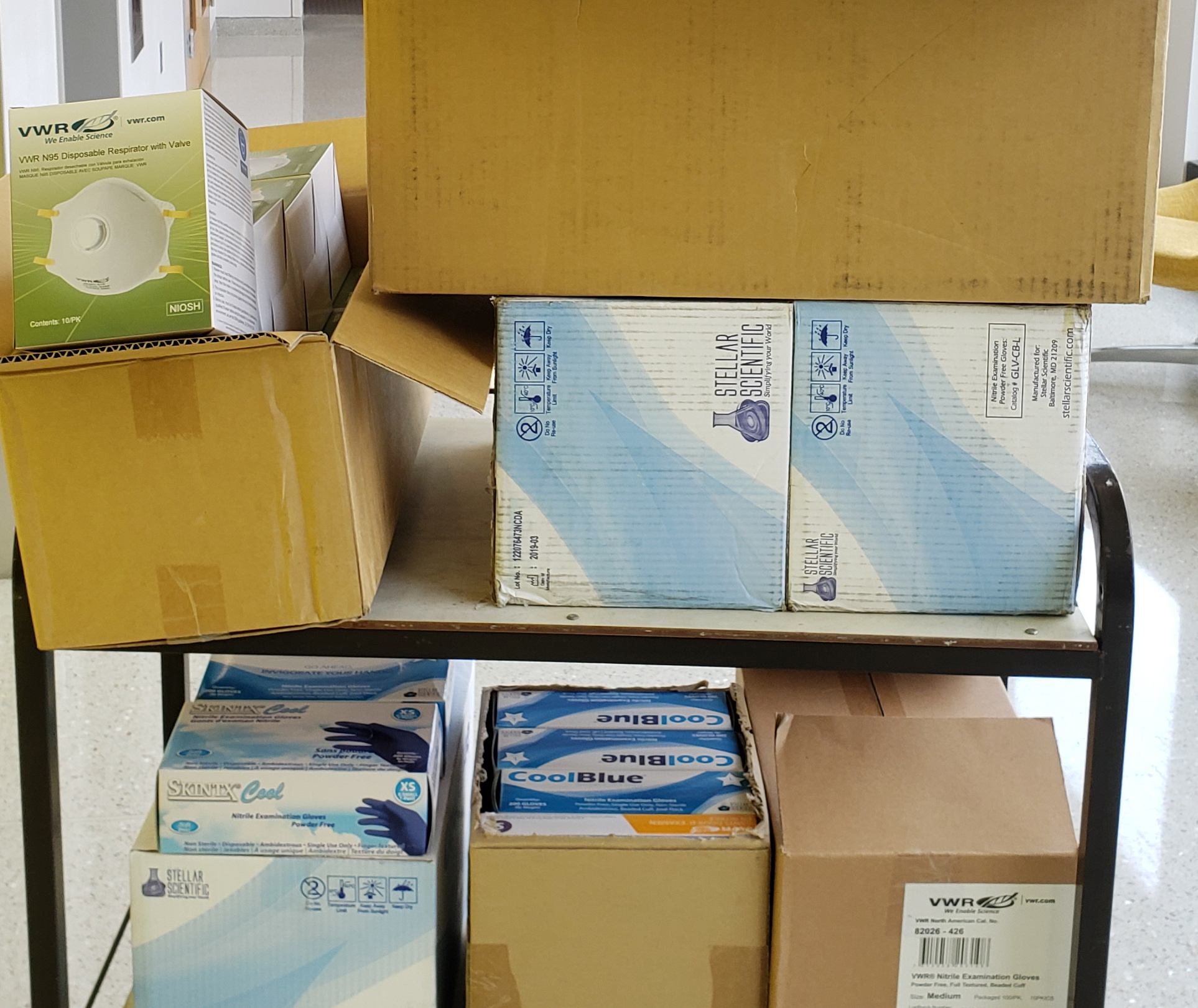 ILSB Faculty Donate Supplies to Area Hospitals